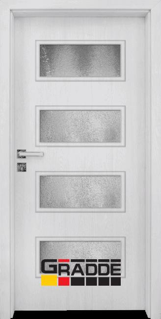 Интериорна HDF врата, модел Gradde Blomendal, Сибирска Лиственица