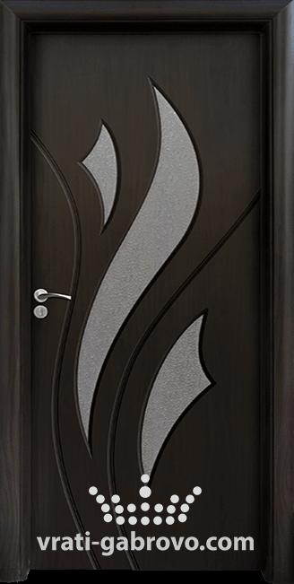 Интериорна HDF врата, модел 033 Венге