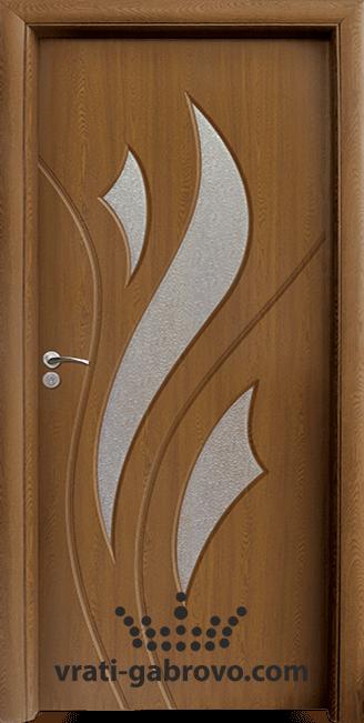 Интериорна HDF врата, модел 033 Златен дъб