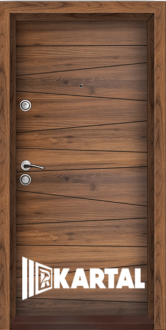 Блиндирана врата Серия Хармония, облицована