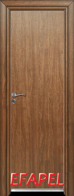 Алуминиева врата за баня – Efapel, цвят Императорска акация
