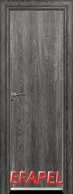 Алуминиева врата за баня – Efapel, цвят Сив ясен